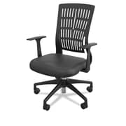 Balt Mid-Back Fly Office Chair; Black