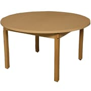 Wood Designs Circular Activity Table; 30'' H x 48'' W x 48'' D