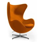 Aeon Furniture Columbia Arm Chair; Orange