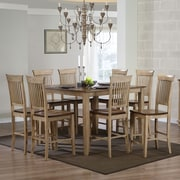 Sunset Trading Brook 9 Piece Pub Table Set