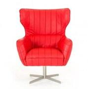 VIG Furniture Divani Casa Kylie Modern Lounge Chair; Red