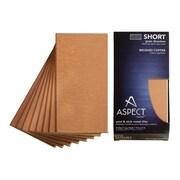 Aspect Short Grain 6'' x 3'' Metal Tile in Brushed Copper Kit