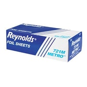 Reynolds Packaging Metro Pop-Up Aluminum Foil Sheets in Silver
