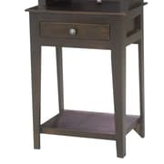 Eagle Furniture Manufacturing End Table; Antique Black
