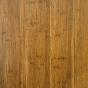 ECOfusion Flooring 4-3/4'' Engineered Bamboo Hardwood Flooring in Light Carbonized
