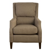 Jofran Chandler Pillow Back Arm Chair; Forage