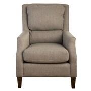 Jofran Chandler Pillow Back Arm Chair; Ash