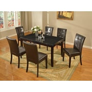 Milton Green Star Dining Table; Black