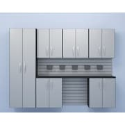 Flow Wall 7 Piece Cabinet System