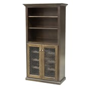 Eagle Furniture Manufacturing 24 Bottle Wine Cabinet; Chocolate Mousse