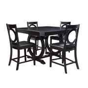 Powell Brigham 5 Piece Counter Height Dining Set