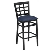 Premier Hospitality Furniture 30.5'' Bar Stool with Cushion; Red