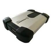 DataLocker 500GB 5 Gbps External Hard Drive, Black & Silver (MXKB1B500G5001FIPS-E)