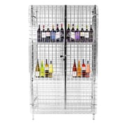 Thunder Group Inc. Security Cage 3 Tier 1 Wide Shelf Locker; 63.39'' H x 37.8'' W x 25.2'' D