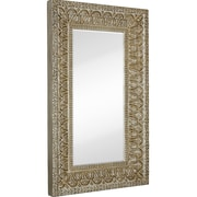 Majestic Mirror Full Length Beveled Glass Wall Mirror