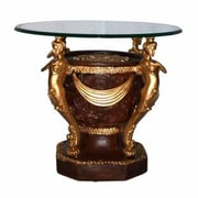 Three Star Round End Table