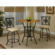Sunset Trading Dart 3 Piece Pub Table Set