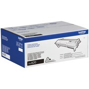 Brother TN820 Black Toner  Cartridge, Standard Yield