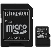 Kingston - Carte MicroSDHC 16 Go avec adaptateur SD classe 10, (KC-C3016-2V4)