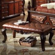 Meridian Furniture USA Luxor Bedroom Bench