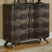 Coast to Coast Imports Alligator Emboss 3 Drawer Chest