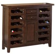 Hillsdale Tuscan Retreat  Bar with Wine Storage