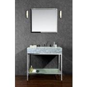 Ariel Bath Brightwater 36'' Single Bathroom Vanity Set with Mirror