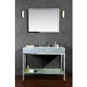 Ariel Bath Brightwater 48'' Single Bathroom Vanity Set with Mirror