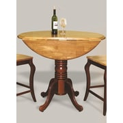 Sunset Trading Sunset Selections Pub Table; Nutmeg Light Oak