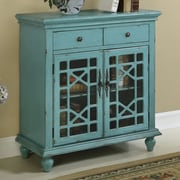 Coast to Coast Imports Bayberry 2 Door and 2 Drawer Cabinet