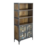 Coast to Coast Imports Chatra 2 Door Tall Cabinet