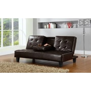 Hodedah Sleeper Sofa; Brown
