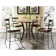 Hillsdale Cameron Round Counter Height Dining Table