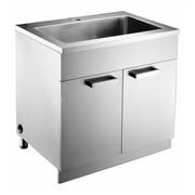 Dawn USA 33'' Stainless Steel Vanity Base