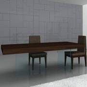 J&M Furniture Float Modern Dining Table