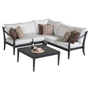 RST Brands Outdoor Astoria 4 Piece Seating Group with Cushion