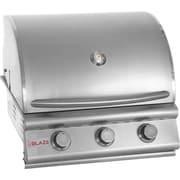 Blaze Grills 25'' 3-Burner Built-In Gas Grill; Natural