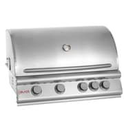 Blaze Grills 32'' 4-Burner Built-In Gas Grill w/ Rear Infrared Burner; Natural