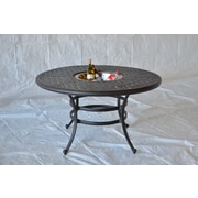 K B Patio Newport Dining Table w/ Ice Bucket