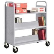 Sandusky Book Cart; Multi Granite