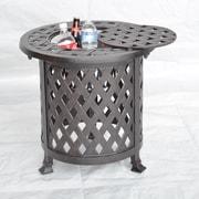 K B Patio Nassau Side Table w/ Ice Bucket
