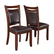 Wildon Home   Side Chair with Cushion (Set of 2)
