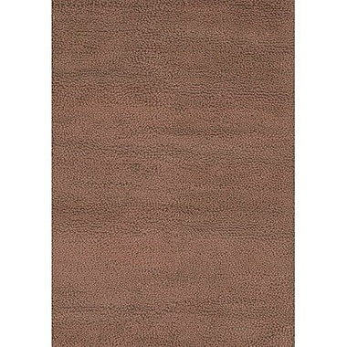 Chandra Strata Brown Area Rug; 2' x 3'