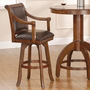 Hillsdale Palm Springs 26.25'' Swivel Bar Stool with Cushion