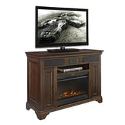 Fairfax Home Collections Belcourt TV Stand w/ Electric Fireplace