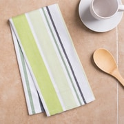 Linen Tablecloth Barcode-Striped Kitchen Towel (Set of 2)