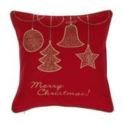 14 Karat Home Inc. Gold Ornaments Throw Pillow