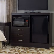 Lang Furniture No Da Combination Mini Refrigerator and Microwave Chest