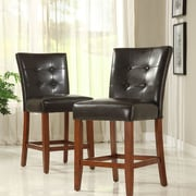 Kingstown Home Wingston 24'' Bar Stool with Cushion (Set of 2)