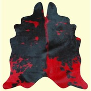 Bellaire Dynamik Dairy Red/Black Area Rug